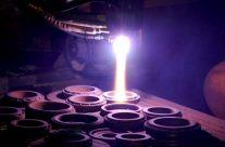 Robotic Plasma Spray of Mechanical Seals